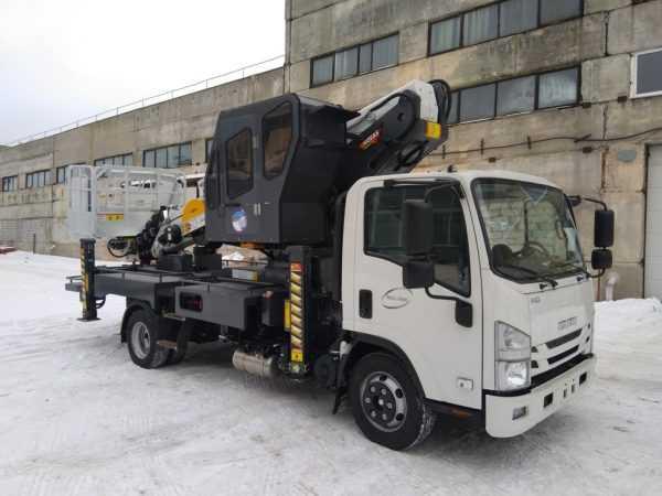 Автовышка Novas 300 (30м) На Шасси Isuzu NQR90