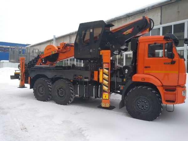 Автовышка Novas 460 (45м) На Шасси КамАЗ-43118 (6 Х 6)